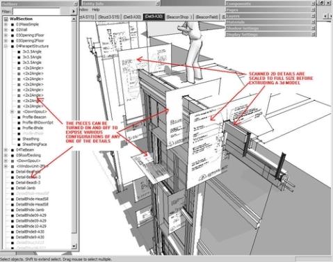 3D index of 2D details