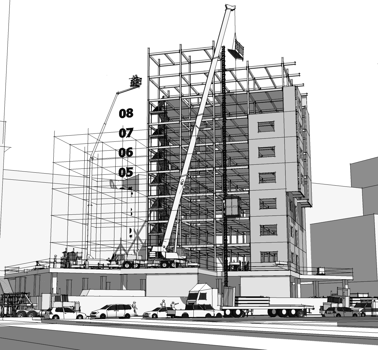 What is a 3d construction model 3d construction modeling 3d site