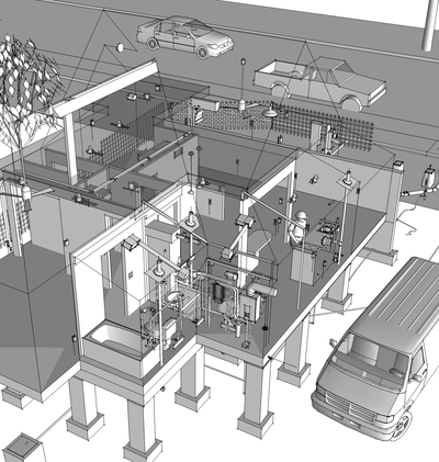 4D Software For Construction Modeling With SketchUp